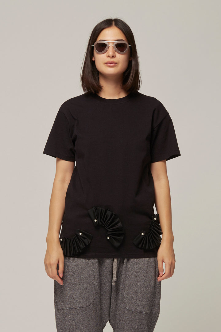 Pearl And Ribbon T- Shirt, Caitlin Price - SWIM XYZ