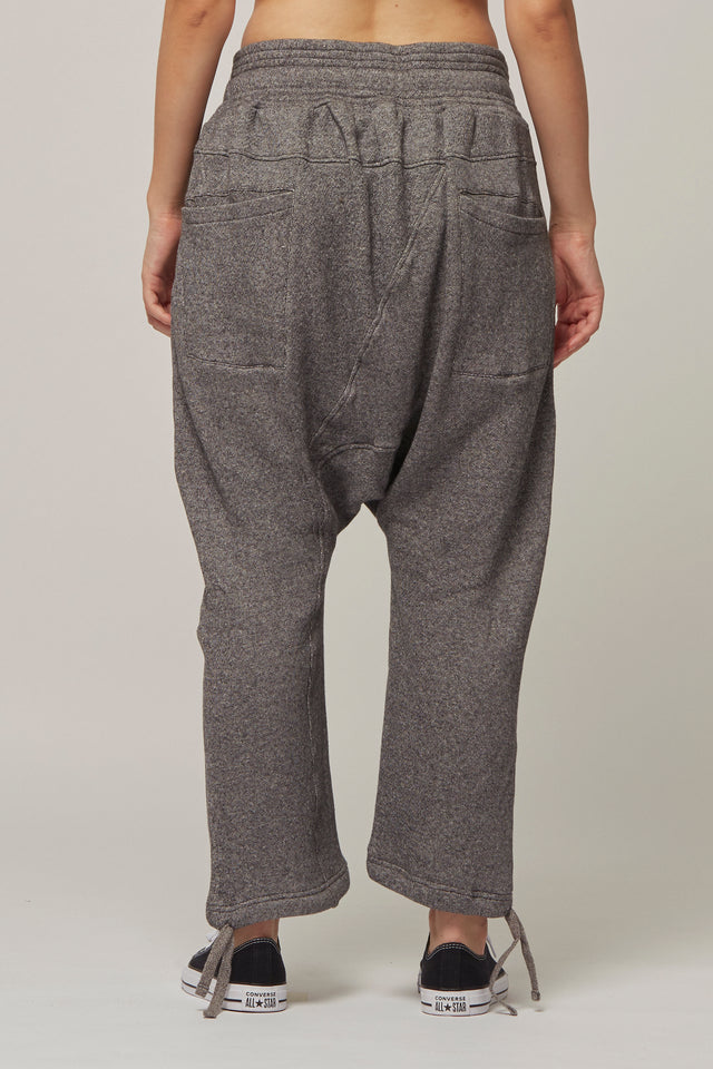 Drop Crotch Tracksuit Bottoms