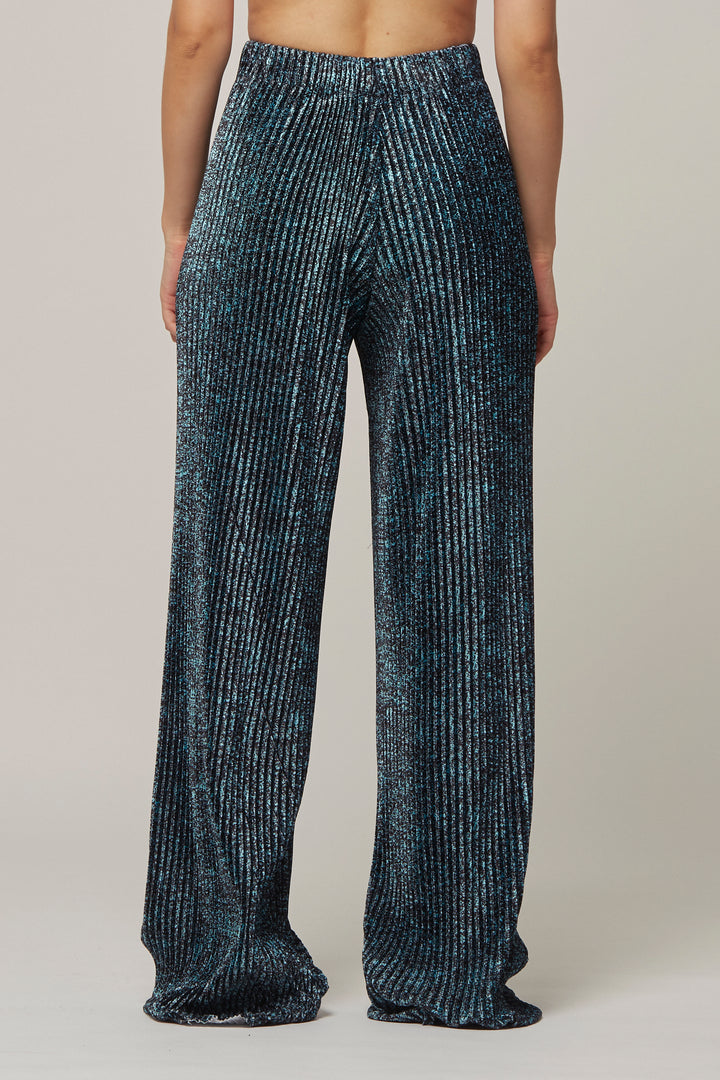 Speckle Print Pleat Trousers, Kitty Joseph - SWIM XYZ