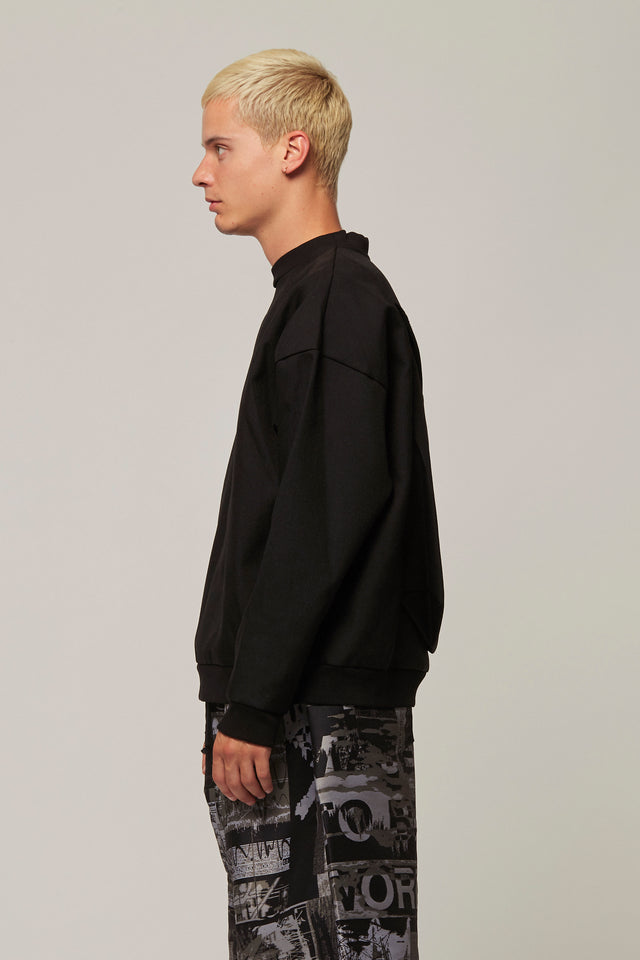 Back Zip Pocket Sweatshirt, BERTHOLD - SWIM XYZ
