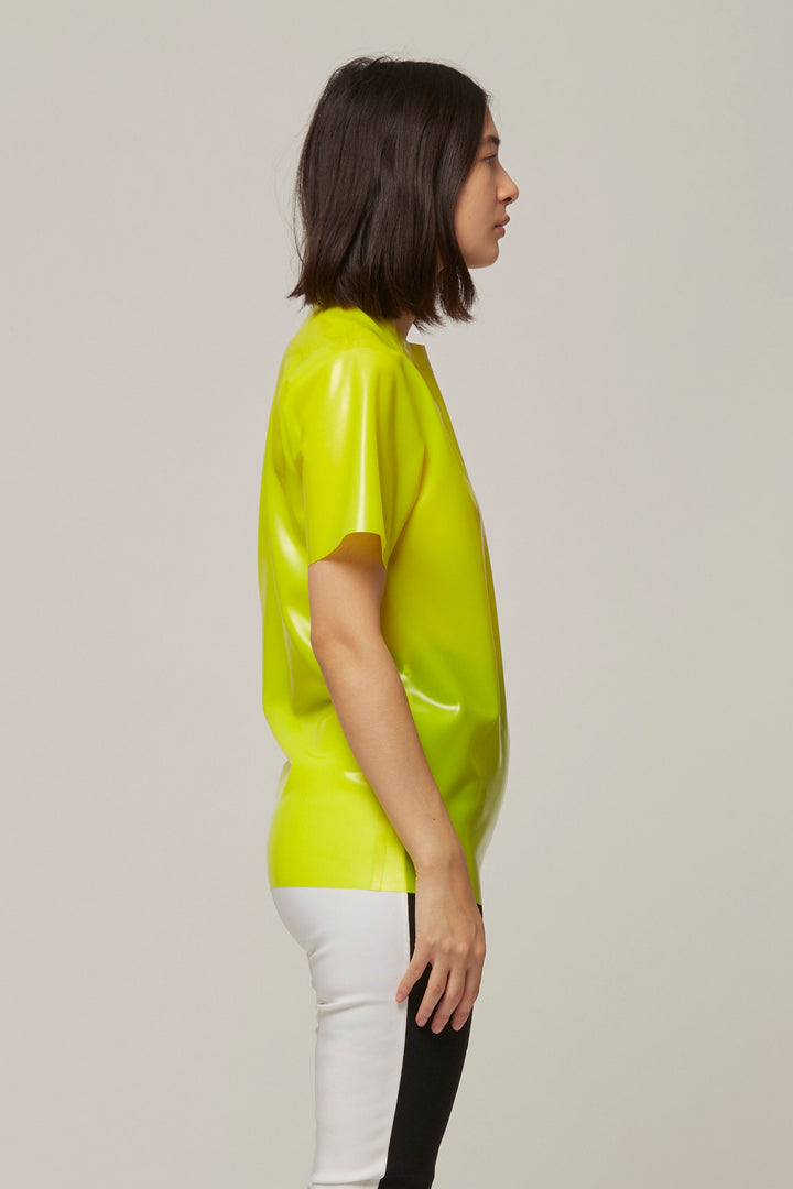 Neon Latex T-Shirt, Hanger - SWIM XYZ