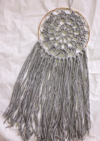 "7"" Grey Dreamcatcher"