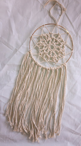 "7"" Cream Dreamcatcher"