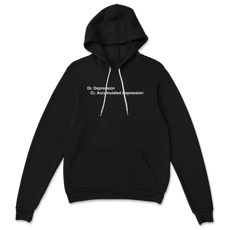 Dr. Depression Cr. Accumulated Depression Hoodie