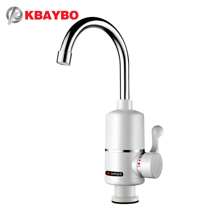 3000W Electric hot water tap Electric Water Heater Bathroom/Kitchen instant electric water heater Tankless A-076