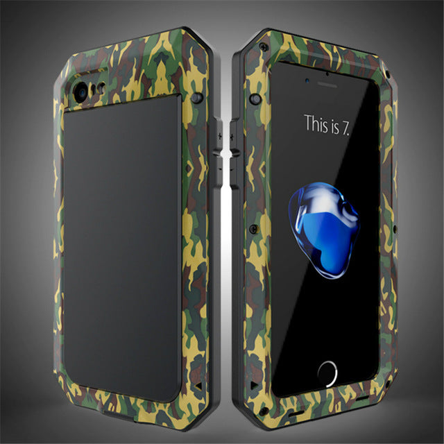 Heavy Duty Case for iPhone 7 case Doom Armor Metal Case for iPhone 5s 6 Plus x Shockproof Cover For Samsung Galaxy S8 s8 plus s7