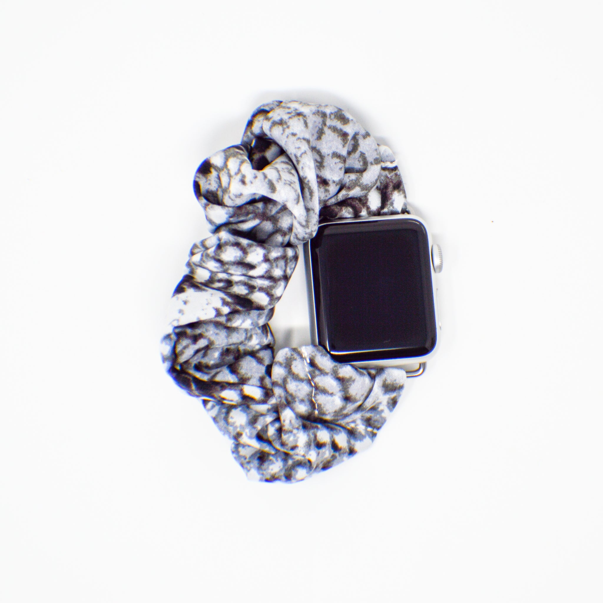 #8 Snakeskin Scrunchie Apple Watch Band