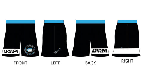 Youth Blue Team Washington Fight Shorts