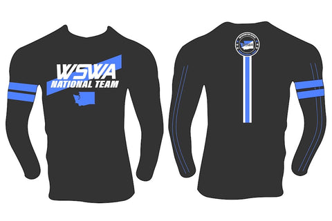 Youth 2019 Blue/Black Team Washington Long Sleeve