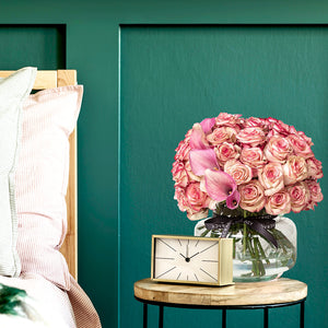 The Floral Take on Pink Interior Design Trends