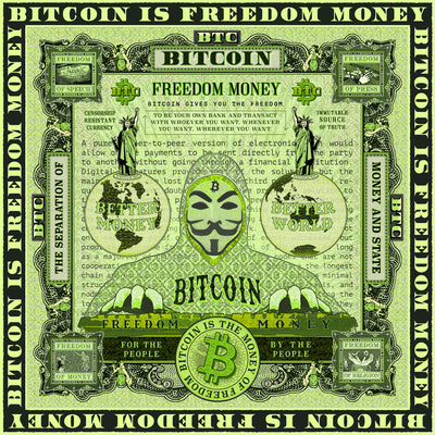 Freedom Money (AudioVisual Bitcoin Art)