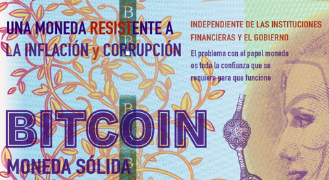 Bitcoin currency independent to inflation and corruption