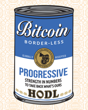 Bitcoin for Any Party #3 - Progressive [Limited to 21] - HODL CRYPTO ART