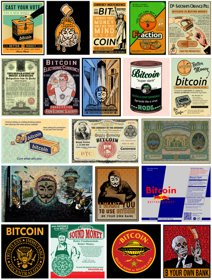 Mother of all Bitcoin Sticker Packs