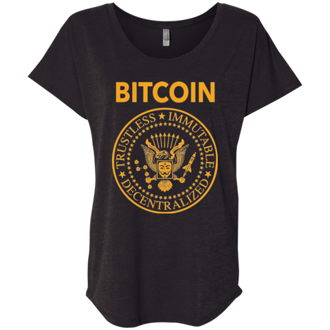 Bitcoin Ramones [Ladies Dollman]