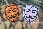 Satoshi Mask Patches (2-pack)