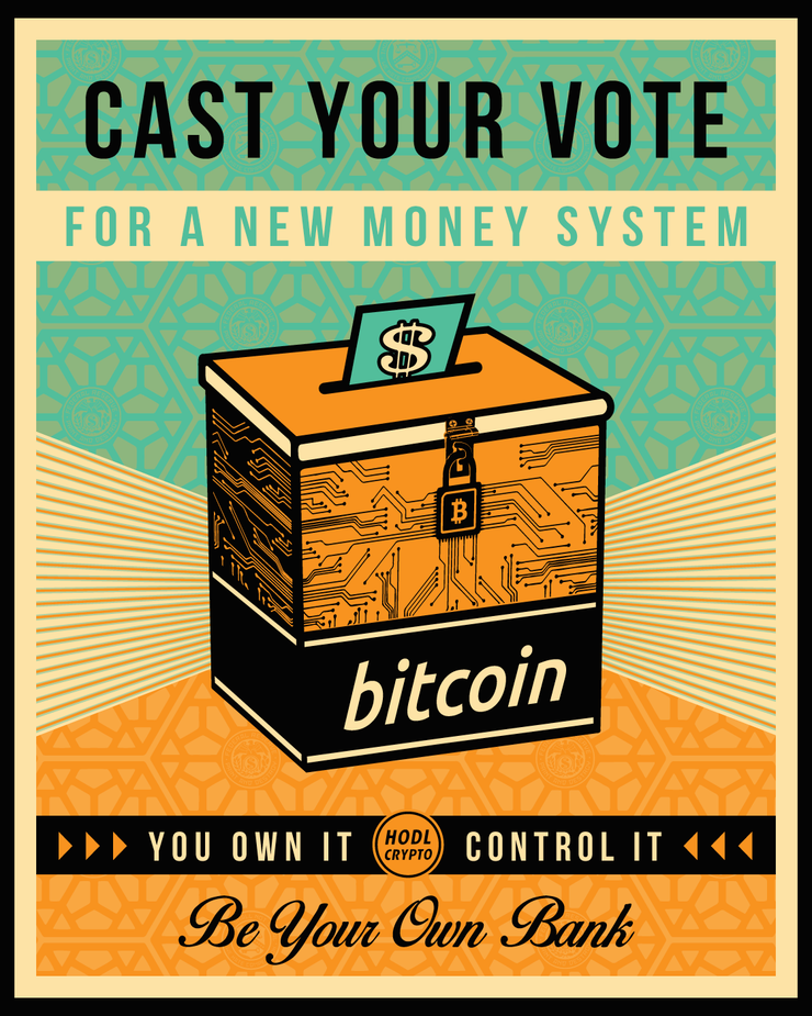 Cast your vote Poster