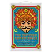 The Satoshi Experience [Hanging Canvas Print]