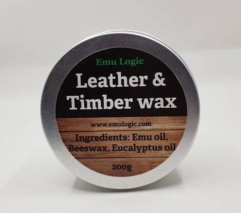 Leather & Timber Wax