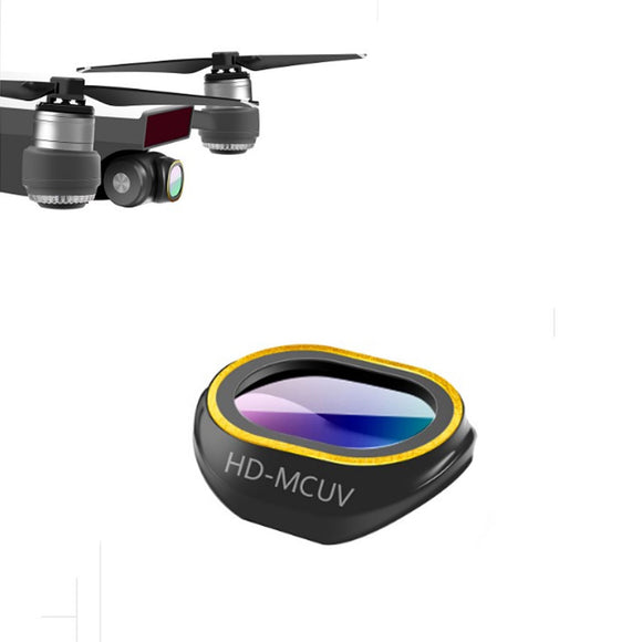 DJI Spark 6 type of Filter Lens (YMCUV/CPL/ND4/ND8/ND16/ND32)