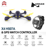 Entry Level Drone HUBSAN X4 STAR PRO H507A + GPS WATCH (PACKAGE)