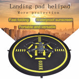 75cm waterproof Landing pad for Drones with Luminous strip
