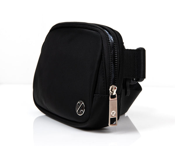 PockPock™ Hip Pack, 1L - Black and Silver