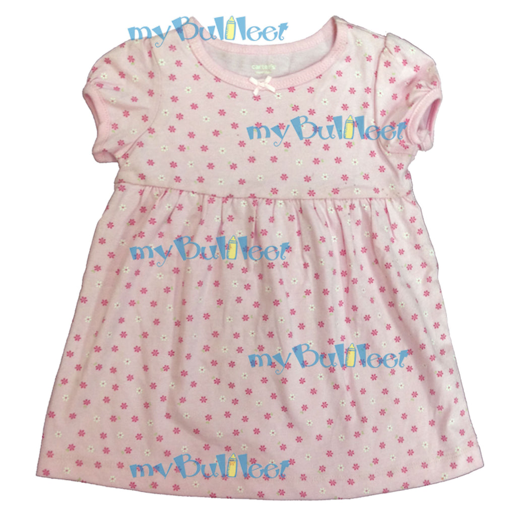 2e67c4367 Floral Carter's Dress with Ribbon – myBulileet