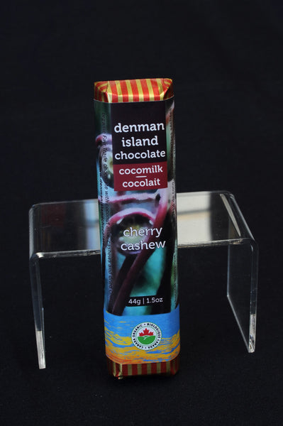 Denman Island Chocolate – Cashew Cherry