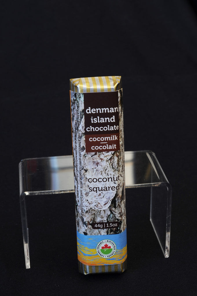 Denman Island Chocolate – Coconut Squared