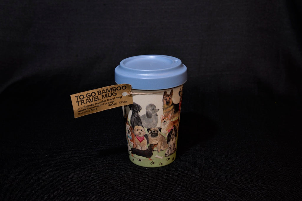 Bamboo To-Go Travel Mug - Dog Lover