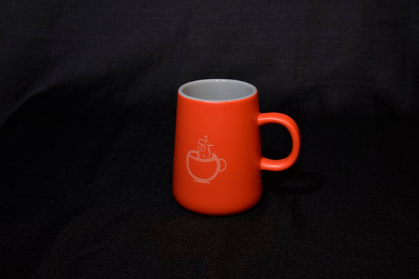 Stonehouse desk mug - red/grey