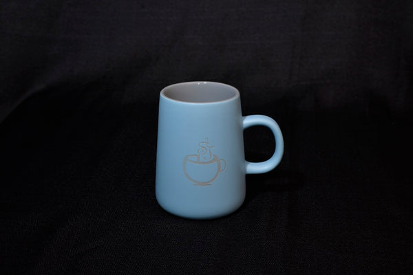 Stonehouse desk mug - blue/grey