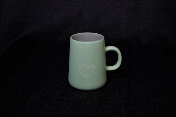 Stonehouse desk mug - mint/grey