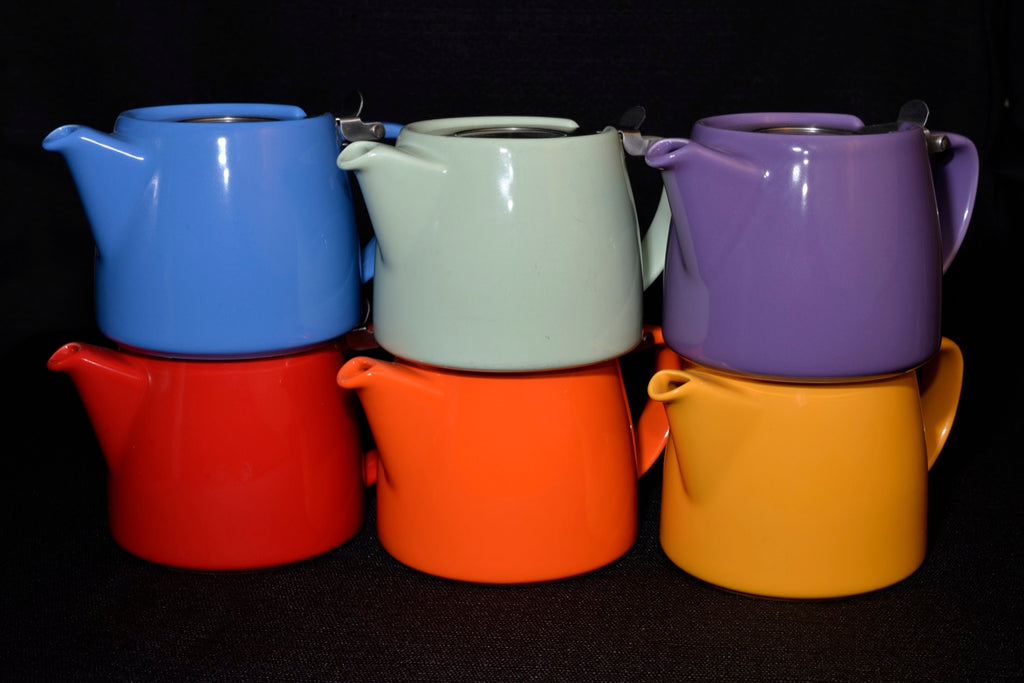ForLife Stump Teapot 18oz (530ml) - assorted colours