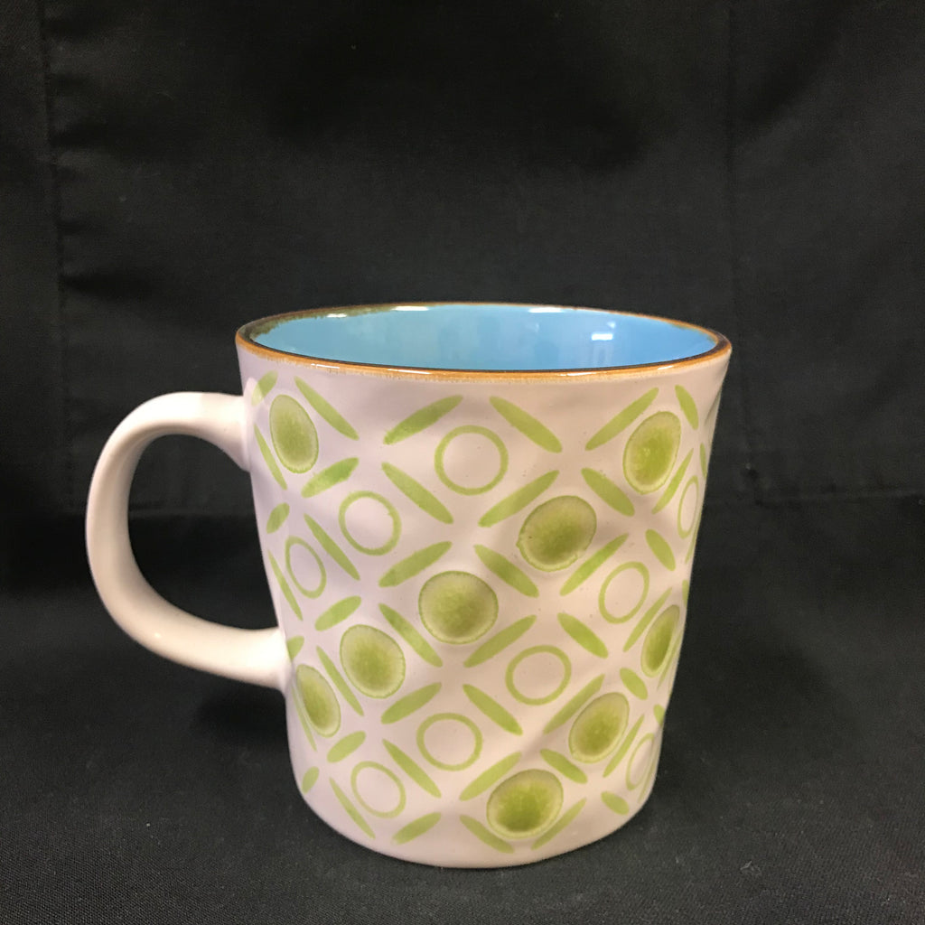 Checkered Mug - green