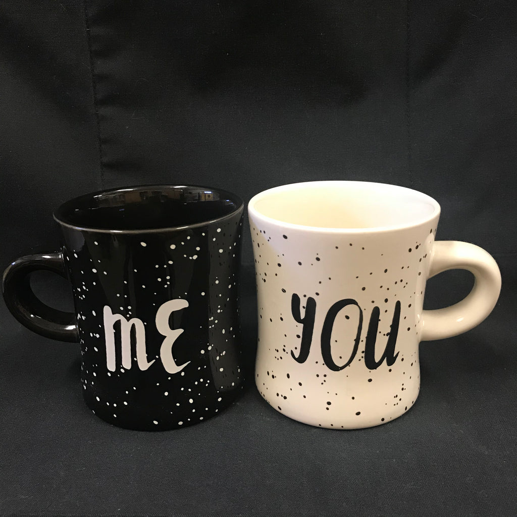 Diner Mug Set - You and Me
