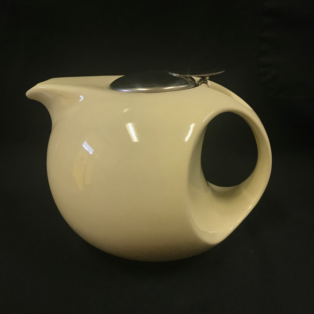 Cream Tea Pot with Strainer