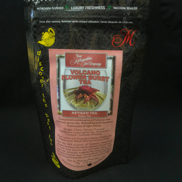 Volcano Flower Burst Tea