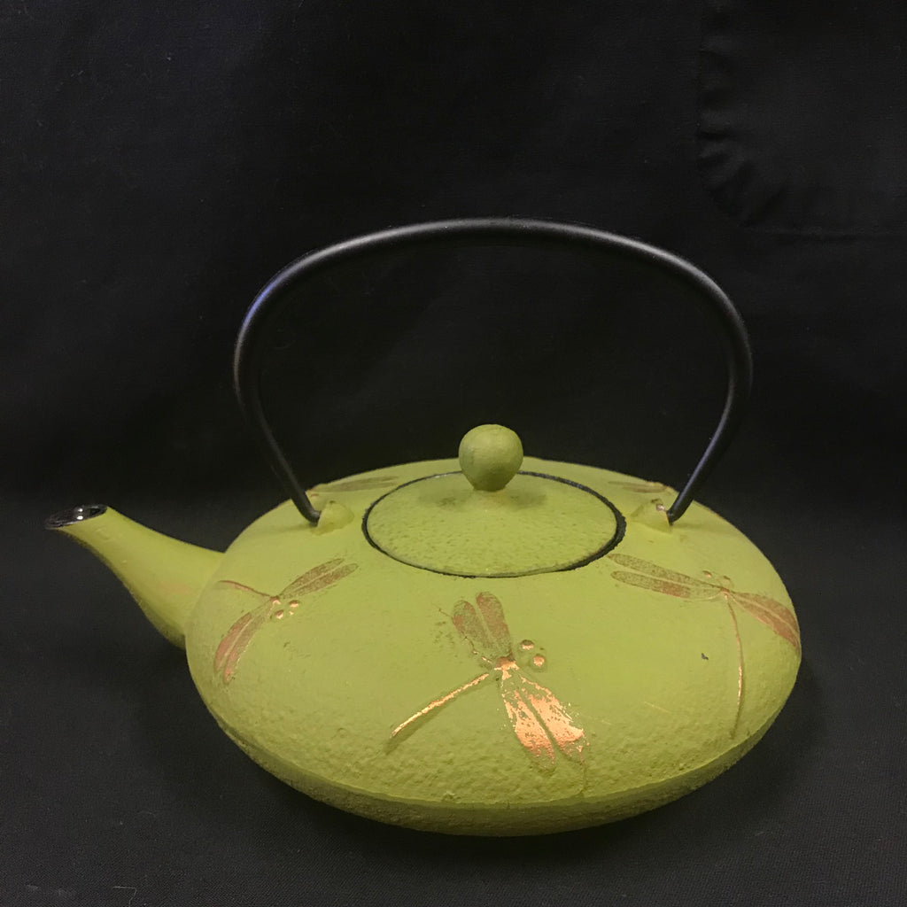 Cast Iron Tea Pot - Dragonfly