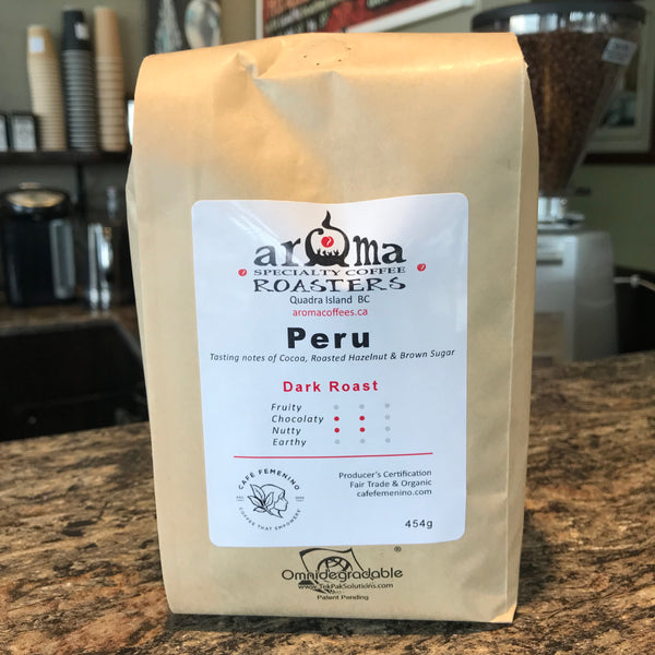 Coffee Beans - Peru dark roast