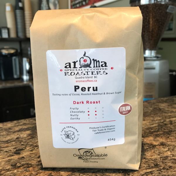 Coffee Beans - Peru Italian roast