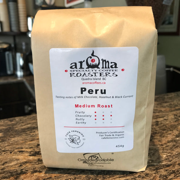 Coffee Beans - Peru medium roast