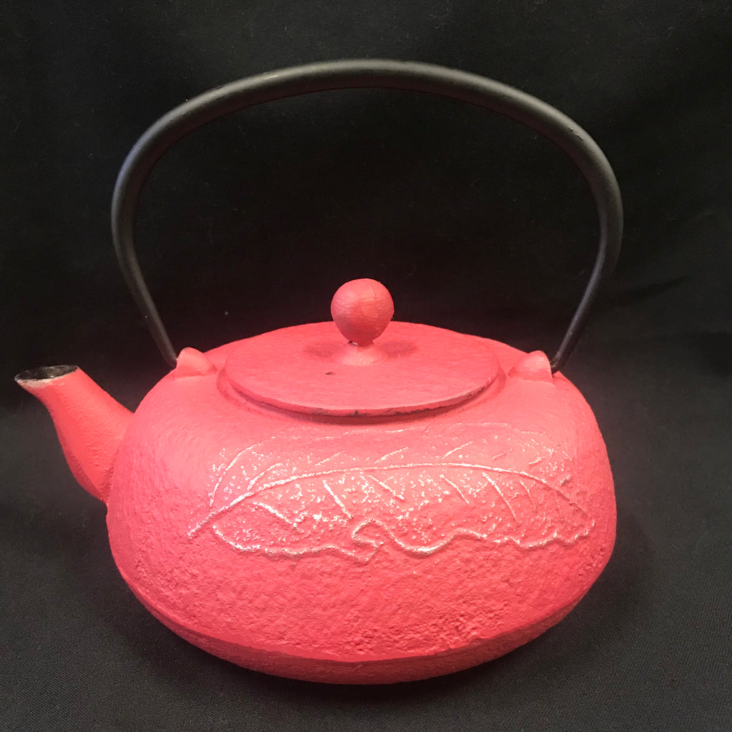 Cast Iron Tea Pot - Leaf