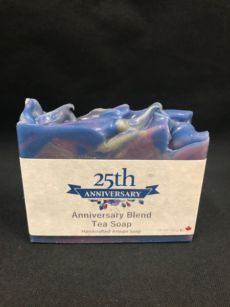 25th Anniversary Signature Blend Tea Soap