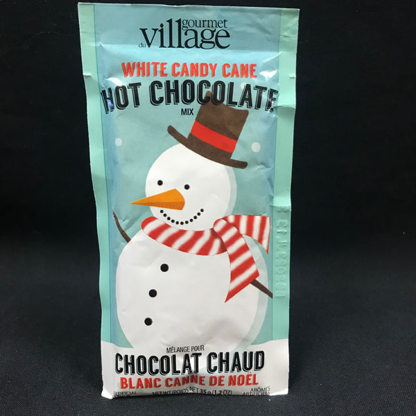 Hot Chocolate - White Candy Cane Snowman