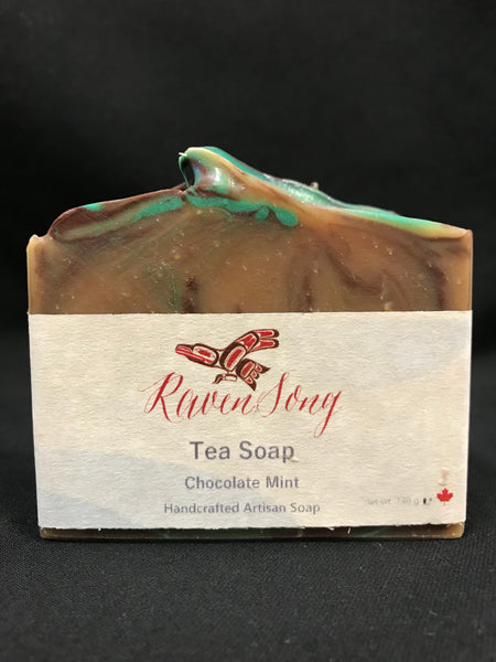 Chocolate Mint Tea Soap