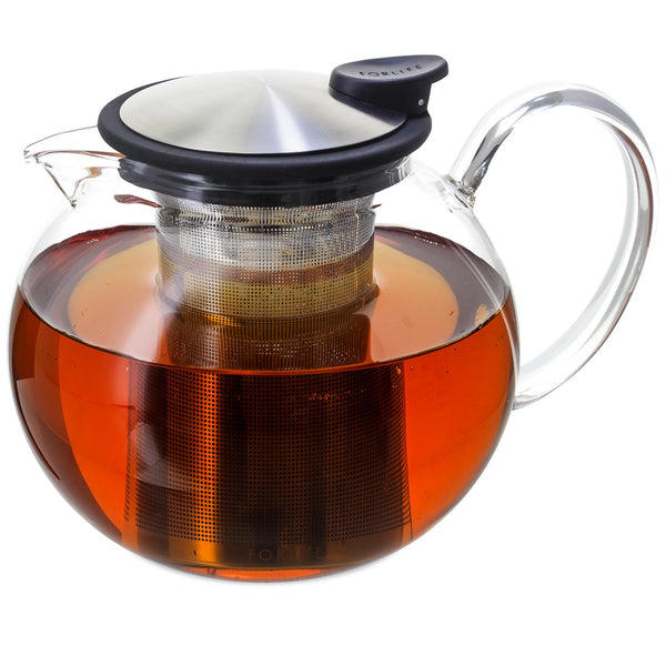 ForLife Glass Teapot 25oz (750ml) - assorted colours