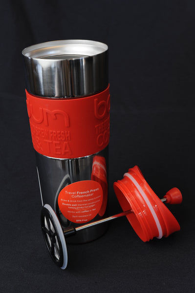 Bodum Travel Press - red