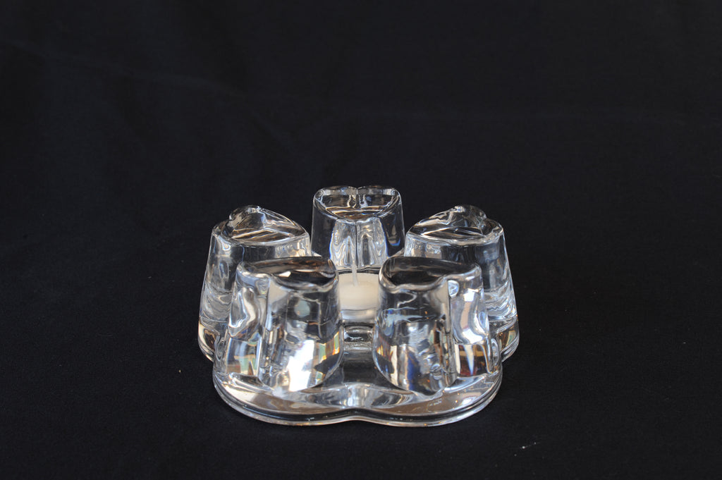 Tea Warmer - glass heart